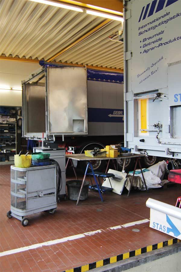 betriebseigene Werkstatt